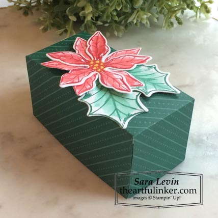 Poinsettia Petals Ferrero Roche Christmas favor Stamping Sunday Blog Hop Holiday Table Stampin' Up! VIDEO TUTORIAL – Click for details – SHOP- ORDER STAMPIN' UP! PRODUCTS ONLINE. Purchase the $99 Starter Kit & enjoy a 20% discount! Tons of paper crafting ideas & FREE Online Classes theartfulinker.com