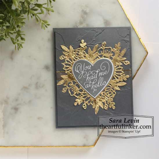 Always in My Heart Masculine Valentine's Day Card Stampin' Up! VIDEO TUTORIAL – Click for details – SHOP- ORDER STAMPIN' UP! PRODUCTS ONLINE. Purchase the $99 Starter Kit & enjoy a 20% discount! Tons of paper crafting ideas & FREE Online Classes theartfulinker.com