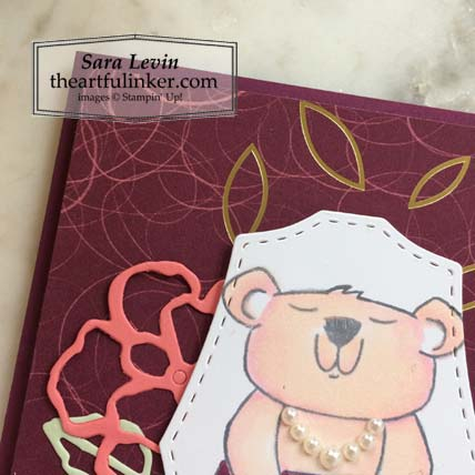 Beary Comforting Paper Pumpkin Alternative 3 card mama bear detail Stampin' Up! VIDEO TUTORIAL – Click for details – SHOP- ORDER STAMPIN' UP! PRODUCTS ONLINE. Purchase the $99 Starter Kit & enjoy a 20% discount! Tons of paper crafting ideas & FREE Online Classes theartfulinker.com