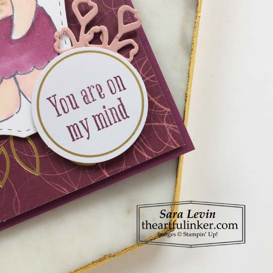 Beary Comforting Paper Pumpkin Alternative 3 card sentiment detail Stampin' Up! VIDEO TUTORIAL – Click for details – SHOP- ORDER STAMPIN' UP! PRODUCTS ONLINE. Purchase the $99 Starter Kit & enjoy a 20% discount! Tons of paper crafting ideas & FREE Online Classes theartfulinker.com