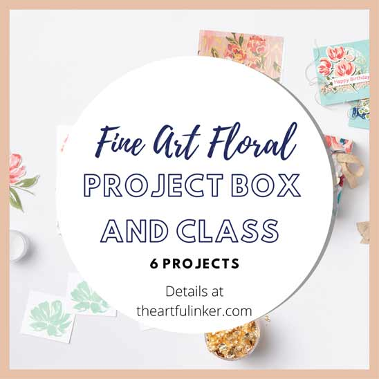 Fine Art Floral Project Box and Online Class coming soon Stampin' Up! VIDEO TUTORIAL – Click for details – SHOP- ORDER STAMPIN' UP! PRODUCTS ONLINE. Purchase the $99 Starter Kit & enjoy a 20% discount! Tons of paper crafting ideas & FREE Online Classes theartfulinker.com