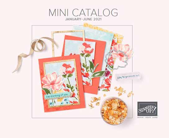 Stampin Up January to June 2021 Mini Catalog