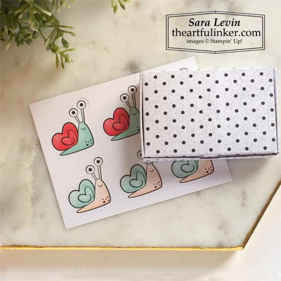 Little Love Boxes Add On assembled Shop for Stampin Up in the US with Sara Levin theartfulinker.com