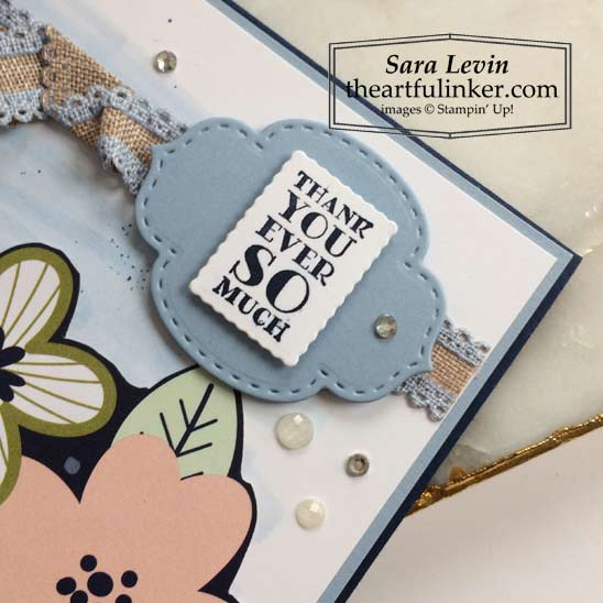 Paper Blooms Many Messages card sentiment detail for Stamping Sunday Blog Hop Stampin' Up! VIDEO TUTORIAL – Click for details – SHOP- ORDER STAMPIN' UP! PRODUCTS ONLINE. Purchase the $99 Starter Kit & enjoy a 20% discount! Tons of paper crafting ideas & FREE Online Classes theartfulinker.com