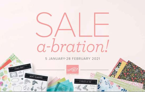January February 2021 Sale a Bration Brochure shop for Stampin Up with Sara Levin theartfulinker.com