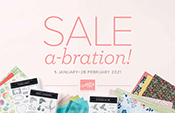 Stampin Up Saleabration Brochure for January February 2021