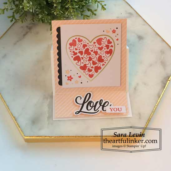Sending Hearts January 2021 Paper Pumpkin alternate 1 Stampin' Up! VIDEO TUTORIAL – Click for details – SHOP- ORDER STAMPIN' UP! PRODUCTS ONLINE. Purchase the $99 Starter Kit & enjoy a 20% discount! Tons of paper crafting ideas & FREE Online Classes theartfulinker.com