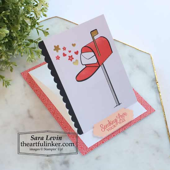Sending Hearts January 2021 Paper Pumpkin alternate 2 side view Stampin' Up! VIDEO TUTORIAL – Click for details – SHOP- ORDER STAMPIN' UP! PRODUCTS ONLINE. Purchase the $99 Starter Kit & enjoy a 20% discount! Tons of paper crafting ideas & FREE Online Classes theartfulinker.com