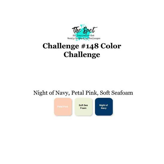 The Spot Creative Challenge 148 color combo for card making