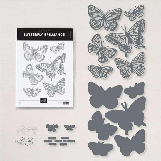 Butterfly Brilliance Bundle from Stampin Up SHOP with Sara Levin theartfulinker.com in the US