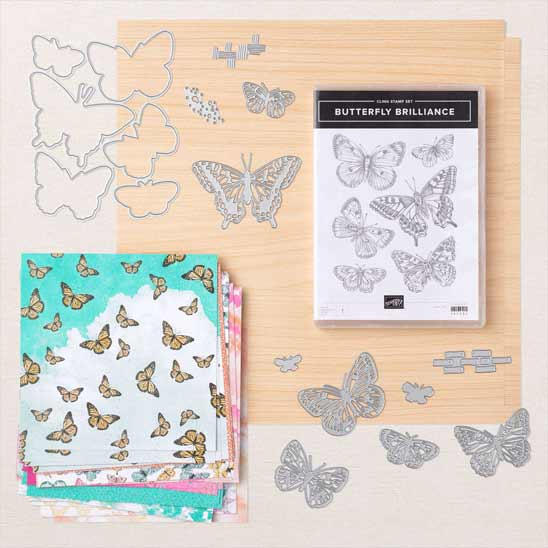 NEW Butterfly Brilliance Collection from Stampin Up SHOP with Sara Levin theartfulinker.com in the US