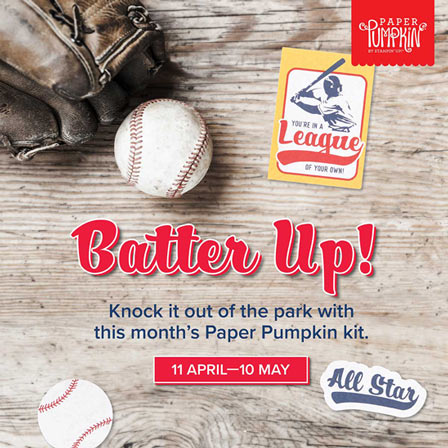 Stampin Up Batter Up Pumpkin for May 2021 SUBSCRIBE with Sara Levin theartfulinker.com
