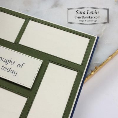 Love of Leaves mid century modern masculine card 2 sneak peek SHOP for Stampin Up with Sara Levin theartfulinker.com