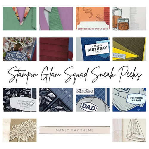 Stampin Glam Squad Many May Tutorial Bundle SHOP for Stampin Up with Sara Levin theartfulinker.com and get it FREE with a $50 product purchase