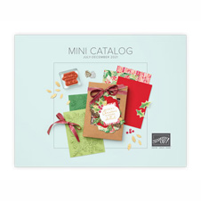 July to December Mini Catalog from Stampin Up SHOP for Stampin Up with Sara Levin theartfulinker.com