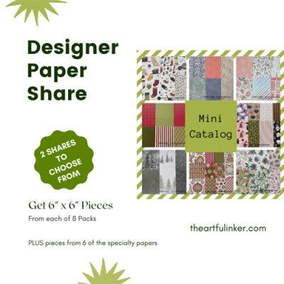 Mini Catalog 2021 Designer Paper and Ribbon Shares