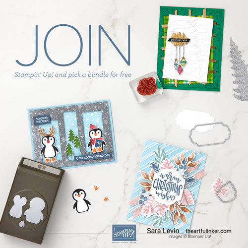 Join my Stampin Up Team during Sale a Bration Sara Levin theartfulinker.com