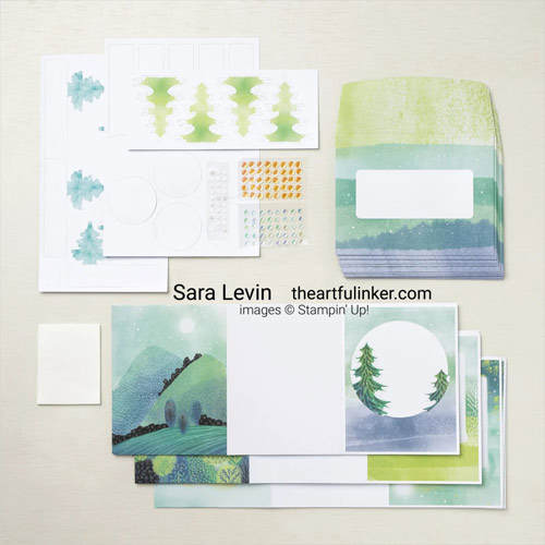 The Adventure Begins July 2021 Paper Pumpkin Refill SHOP for Stampin Up with Sara Levin theartfulinker.com