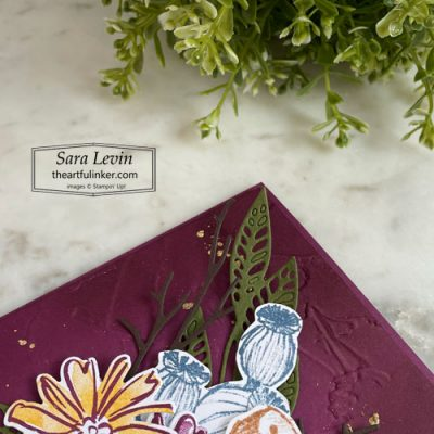 Color and Contour Fall card with Enjoy the Moment sneak peek SHOP for Stampin Up with Sara Levin theartfulinker.com