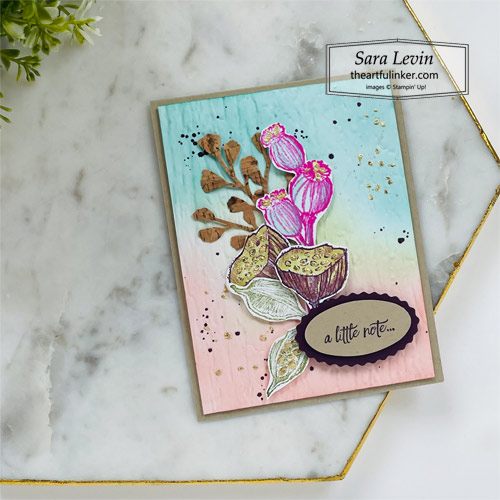 Enjoy the Moment Summer Fall Card SHOP for Stampin Up with Sara Levin theartfulinker.com