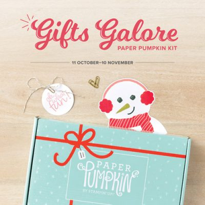 Gifts Galore November 2021 Paper Pumpkin SUBSCRIBE to Paper Pumpkin with Sara Levin by November 10, 2021