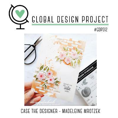 Global Design Project 312 case the designer SHOP for Stampin Up with SAra Levin theartfulinker.com