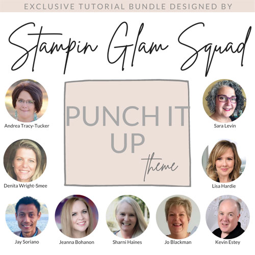Punch It Up Tutorial Bundle FREE with a $50 product purchase in my Stampin Up store Sara Levin theartfulinker.com